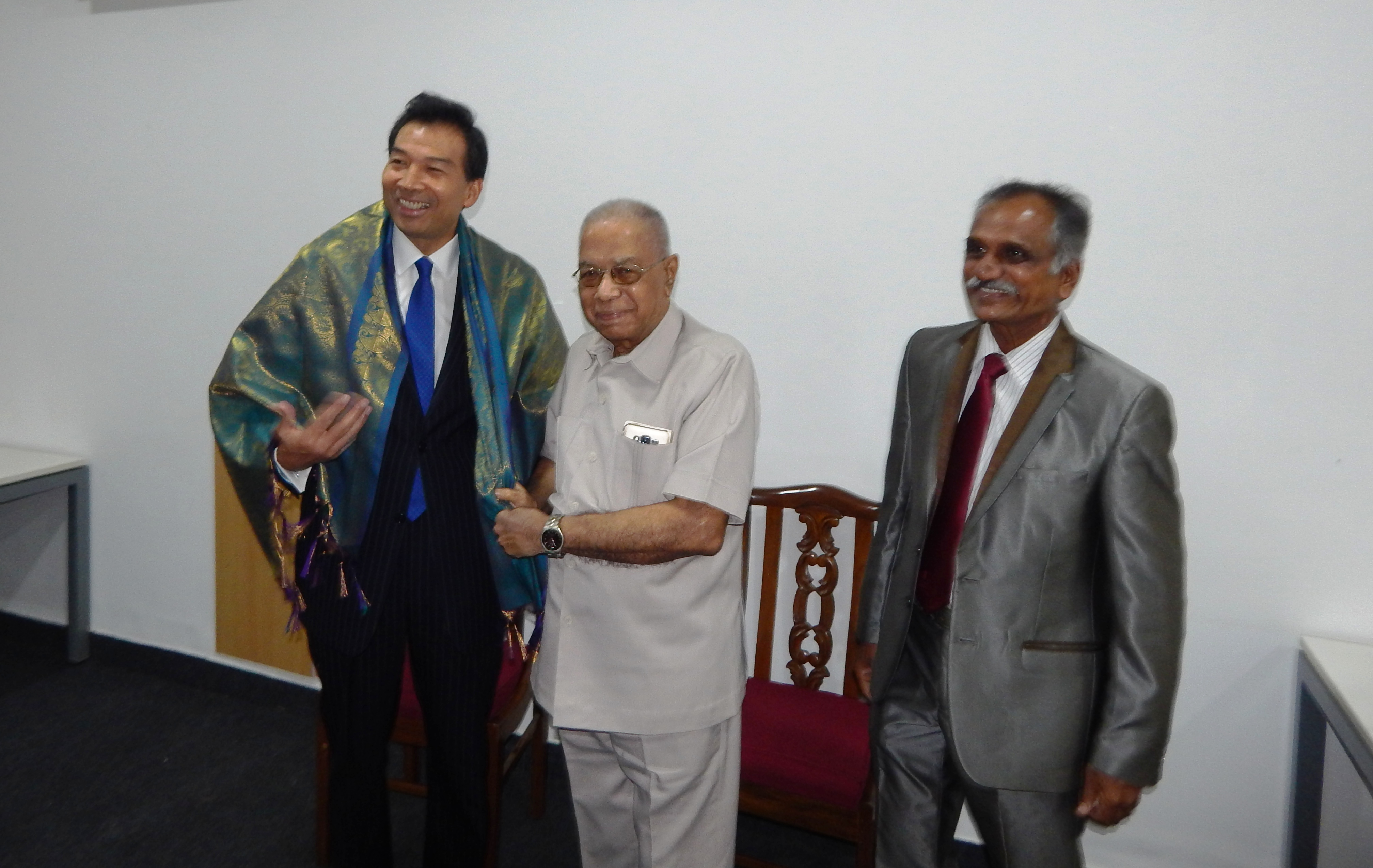 Report of Informal Visit of Chinese Ambassador to India, Luo Zhaohui to C3S