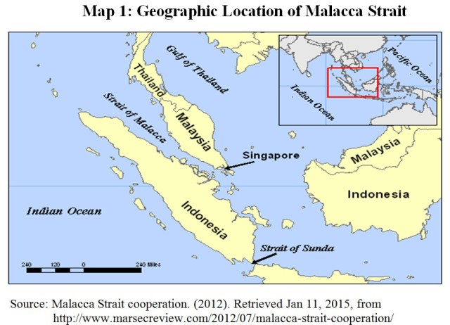 Strait Of Malacca Map India's Strategic Dimensions in Malacca Strait By Vithiyapathy