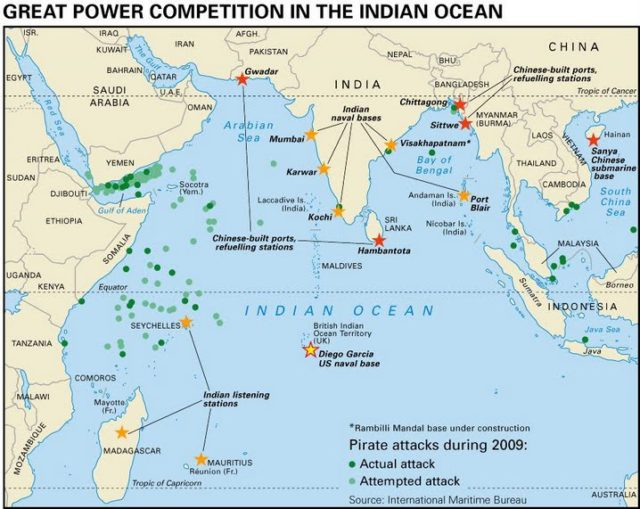 China's Maritime Strategies in Indian Ocean Region and Reflections in Sri Lanka; By Anju Rose James
