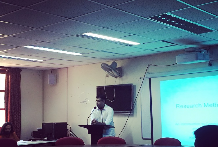 Event Report: Research Methodology Workshop